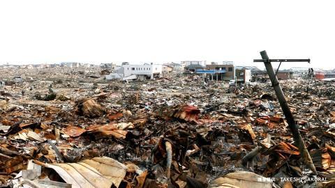 東北大震災 被災地