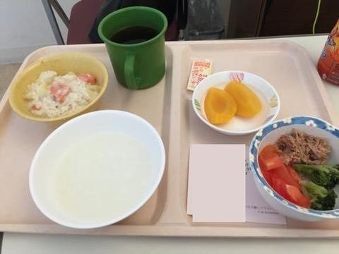 画像20171121病院食 ガジェとろサイト