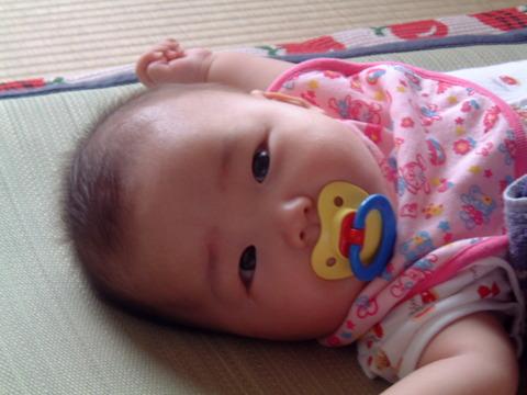赤ちゃん 長女