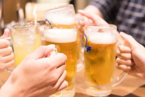 乾杯 ビール