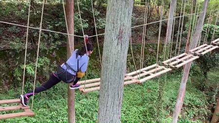 女性が渡れそうな橋