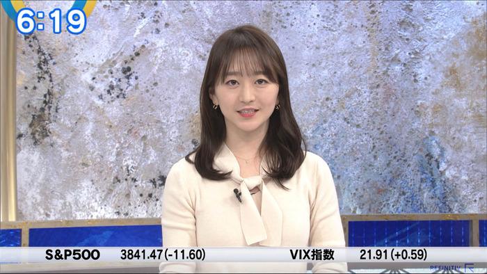 片渕茜アナのデカパイ