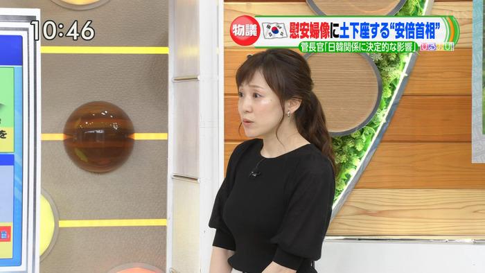 江藤愛アナの乳