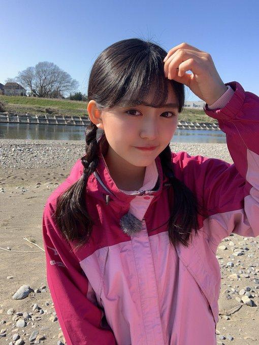 豊田ルナのスクール水着グラビア