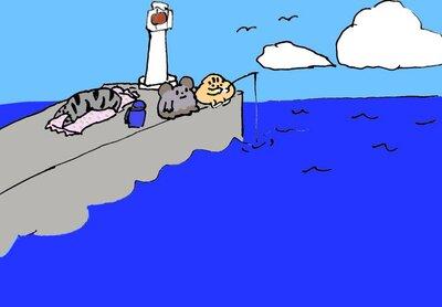 鹿児島の防波堤