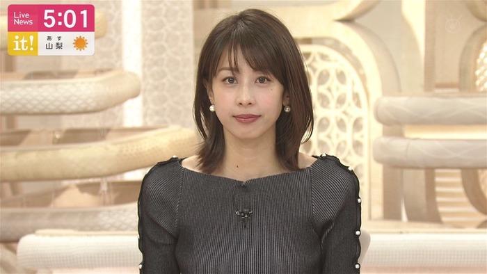 加藤綾子アナのおっぱい