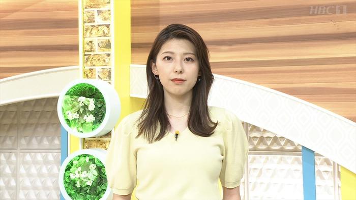 上村彩子アナの爆乳