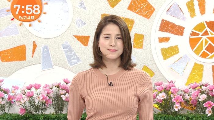 永島優美アナのニットおっぱい10