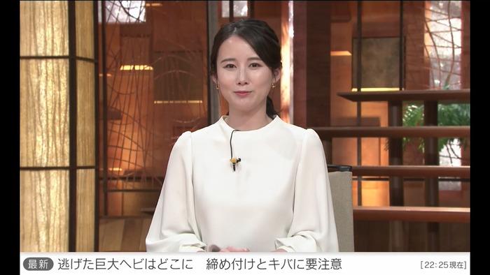 森川夕貴アナの乳