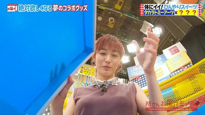 新井恵理那アナのおっぱい4