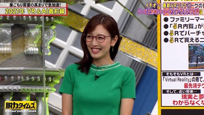 小澤陽子アナの乳5