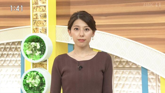 上村彩子アナの乳袋
