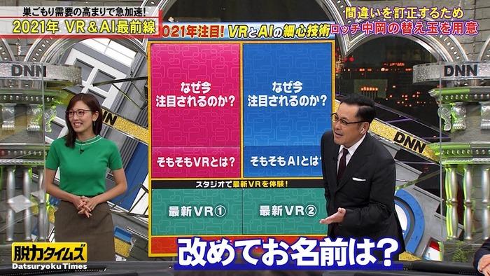 小澤陽子アナのおっぱい8