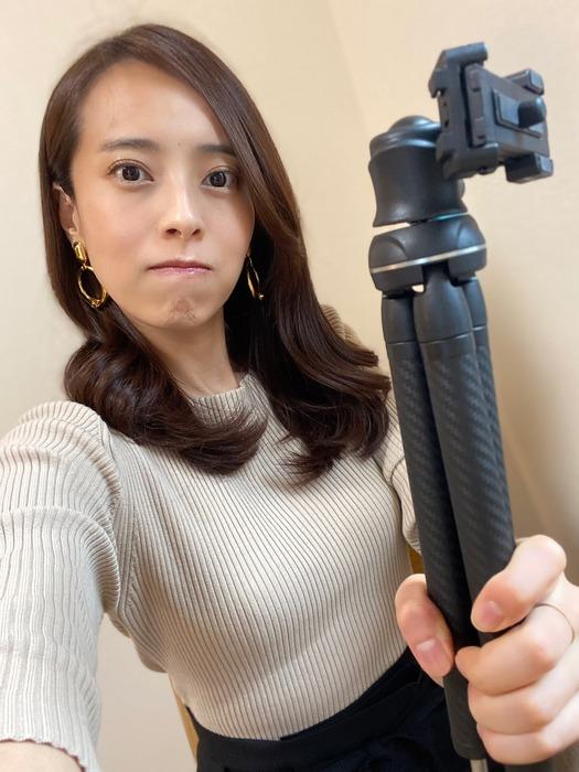 上田まりえアナのニット巨乳