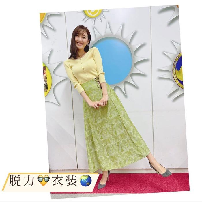 小澤陽子アナの胸