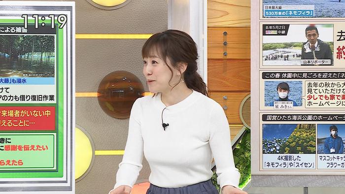 江藤愛アナのおっぱい