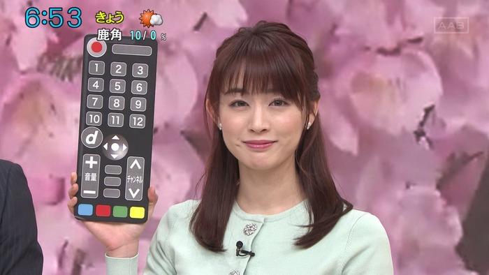 新井恵理那アナの乳