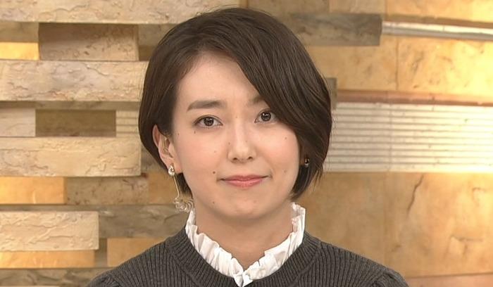 和久田麻由子アナのニット乳