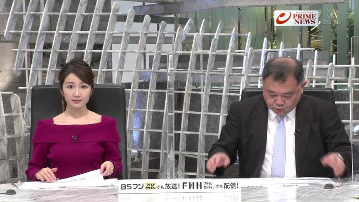 長野美郷アナのニットおっぱい1