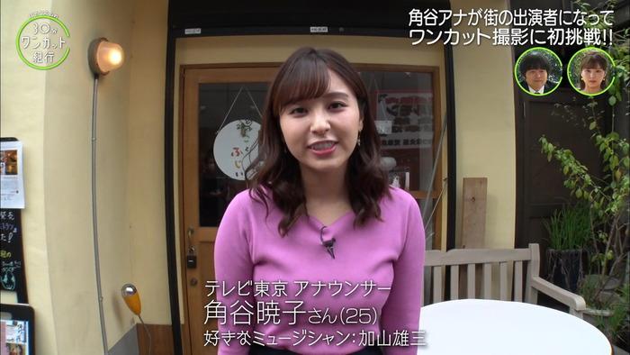 角谷暁子アナの巨乳