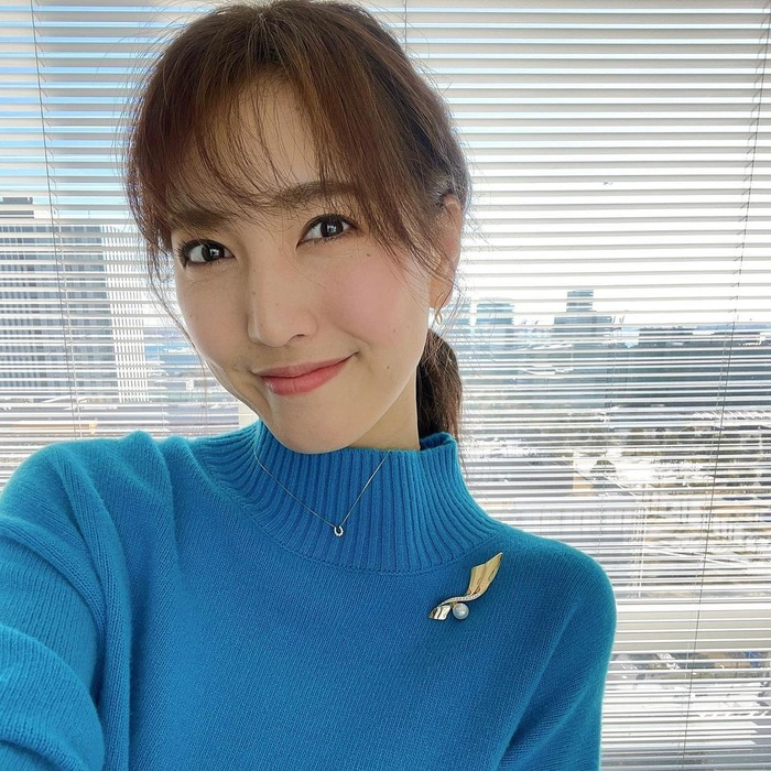 小澤陽子アナのニット胸