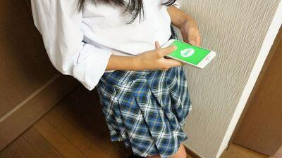 女子中学生の巨乳