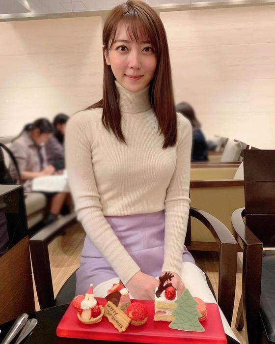 上野愛奈アナのおっぱい