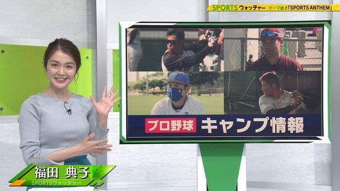 福田典子アナの乳2