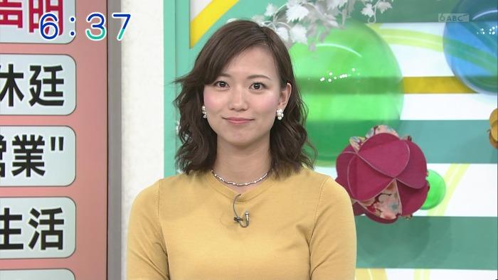 斎藤真美アナウンサーのおっぱい