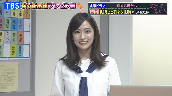 田村真子アナのニットおっぱい