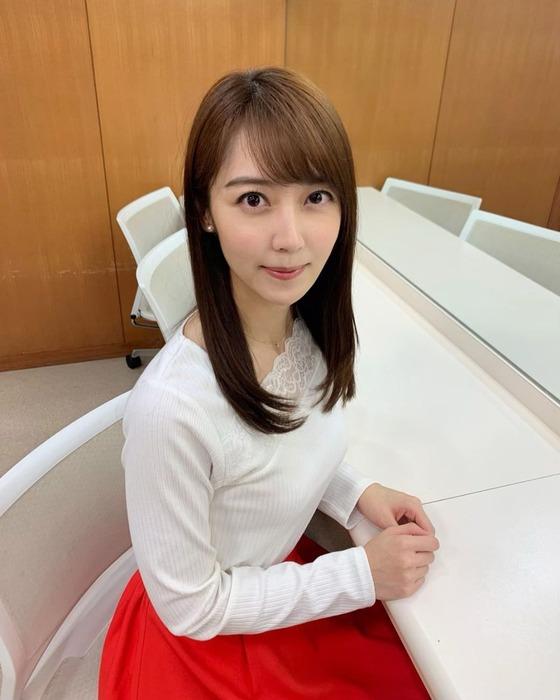 上野愛奈アナの乳