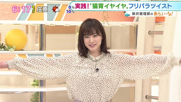 新井恵理那アナの乳3