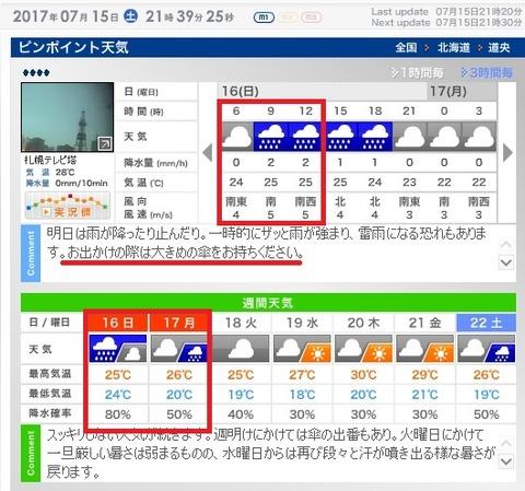 札幌 天気