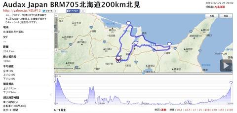 BRM705北海道200km北見