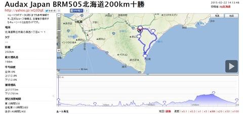 BRM505北海道200km十勝