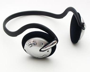 ヘッドフォン一体型MP3プレーヤー「DN-CCMP128/256」