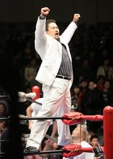2007.01.02の全日本プロレス後楽園大会で復帰することが決まった健介