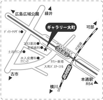 DM-ギャラリー大町MAP