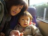 バスで(^_-)-☆
