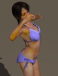 006 Miki2 with Cookie Bikini 001
