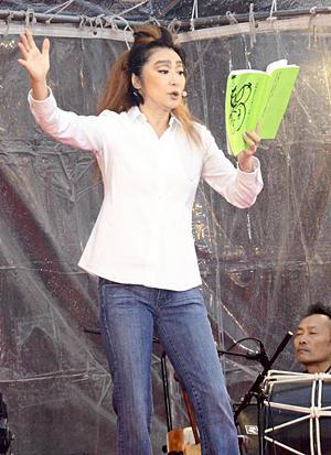 浅野温子 よみ語り 會津藩校日新館 福島県会津若松市