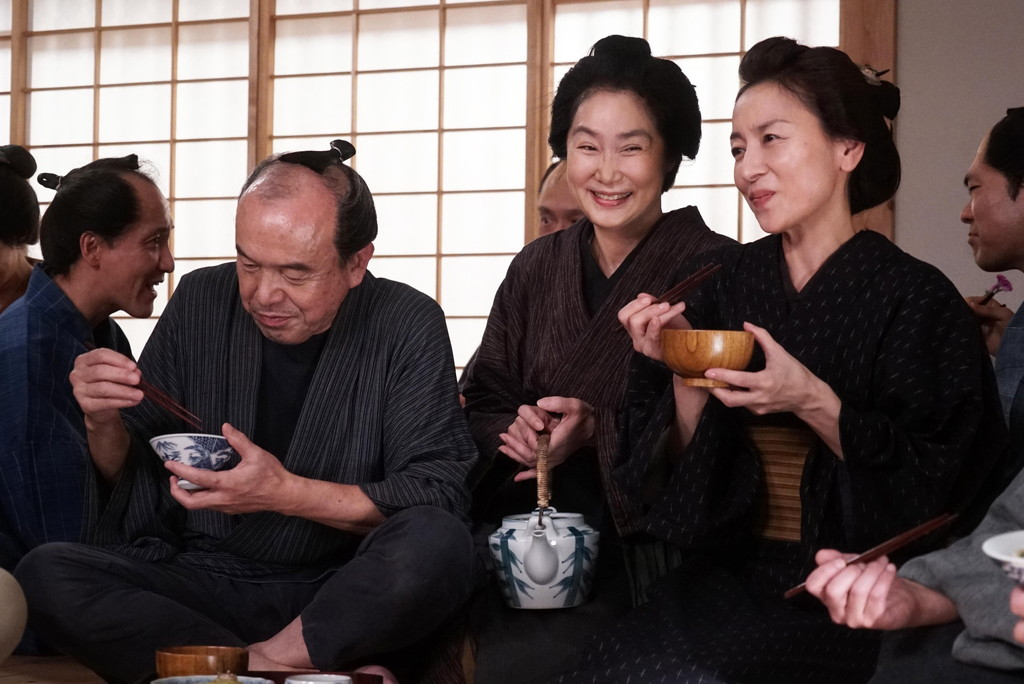 浅野温子 映画『みをつくし料理帖』