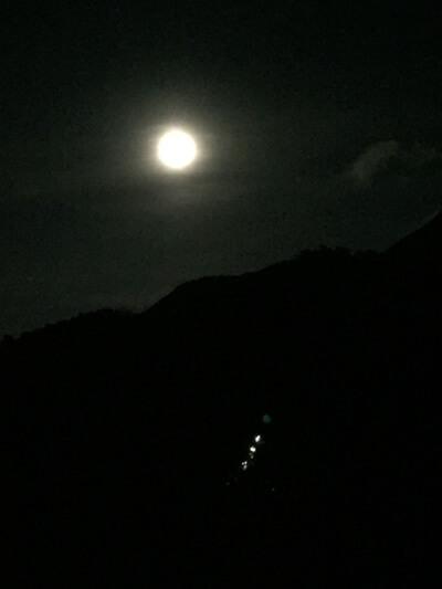 お月様 満月