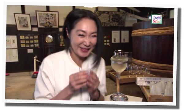 浅野温子 旅サラダ 広島西条酒蔵通り