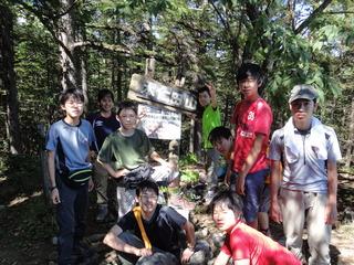 2011年度9月山行写真2