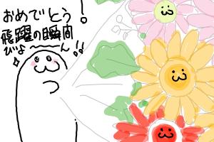 【びよーん】試験に受かったびよー!≡( ε:)≡( ε:)