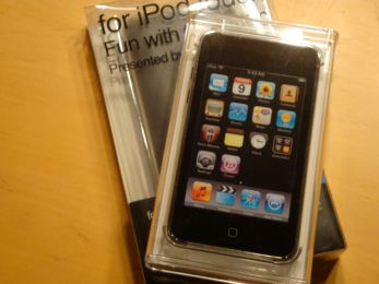 iPod touch 32G ゲット!