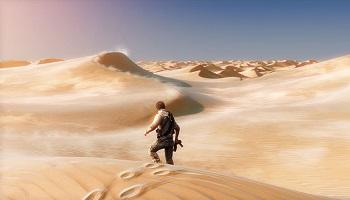 砂漠ステージ(BGMは微妙、景色がワンパターン、ひたすら歩くだけ)←こいつが毎回ゲームに入れられる理由