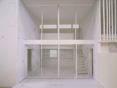 小さな家 内部模型写真01