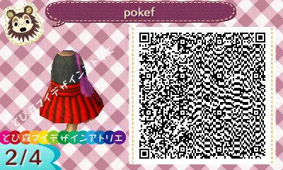 ポケモンXY女デザインQR02